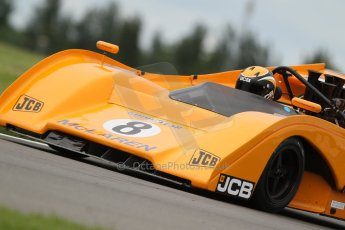 World © Octane Photographic Ltd. 5th June 2014, Donington Park general unsilenced test.  McLaren M8F/P - Andy Newall. Digital Ref : 0976CB7D4220
