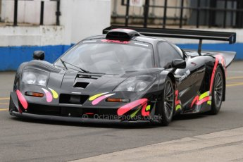 World © Octane Photographic Ltd. 5th June 2014, Donington Park general unsilenced test.  McLaren F1GTR. Digital Ref : 0976CB7D5789