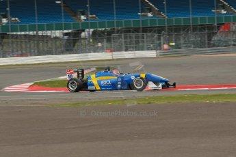 World © Octane Photographic Ltd. FIA European F3 Championship, Silverstone, UK, April 18th 2014 - Qualifying sessions. Fortec Motorsports – Mercedes – John Bryant-Meisner. Digital Ref : 0908lb1d1076