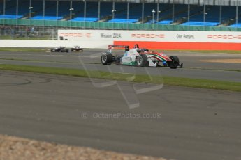 World © Octane Photographic Ltd. FIA European F3 Championship, Silverstone, UK, April 19th 2014 - Race 1. Prema Powerteam - Dallara F312 Mercedes – Dennis van der Laar. Digital Ref : 0909lb1d6893