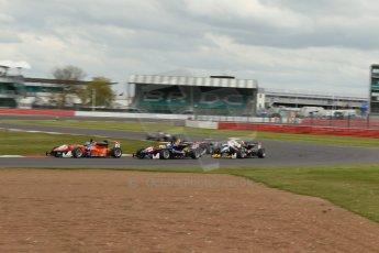 World © Octane Photographic Ltd. FIA European F3 Championship, Silverstone, UK, April 19th 2014 - Race 2. kfzteile24 Mücke Motorsport – Dallara F312 Mercedes – Felix Rosenqvist. Digital Ref : 0910lb1d1310