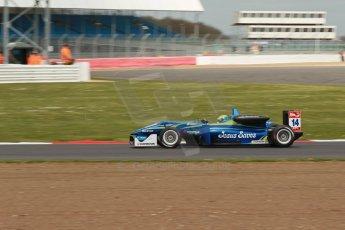 World © Octane Photographic Ltd. FIA European F3 Championship, Silverstone, UK, April 19th 2014 - Race 2. Double R Racing – Dallara F312 Mercedes – Felipe Guimaraes. Digital Ref : 0910lb1d1369