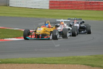 World © Octane Photographic Ltd. FIA European F3 Championship, Silverstone, UK, April 19th 2014 - Race 2. Jo Zeller Racing – Dallara F312 Mercedes - Tatiana Calderon. Digital Ref : 0910lb1d7276
