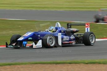 World © Octane Photographic Ltd. FIA European F3 Championship, Silverstone, UK, April 19th 2014 - Race 2. Carlin – Dallara F312 Volkswagen – Jordan King. Digital Ref : 0910lb1d7300
