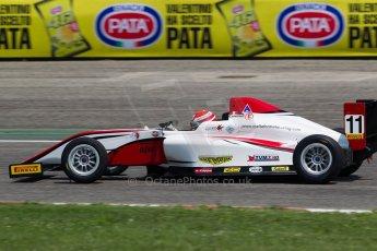 World © MaltaFormulaRacing. FIA F4 Italia Adria International Speedway - June 7th 2014. Tatuus F4 T014 Abarth. Digital Ref : 0989MS6657