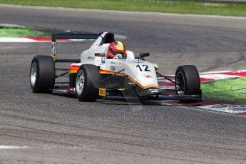 World © MaltaFormulaRacing. FIA F4 Italia Adria International Speedway - June 7th 2014. Tatuus F4 T014 Abarth. Digital Ref : 0989MS7258