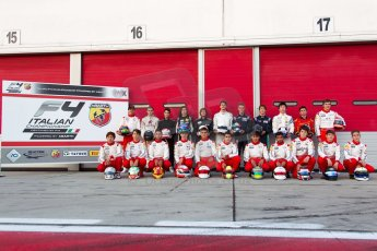 World © MaltaFormulaRacing. FIA F4 Italia Adria International Speedway - June 7th 2014. Tatuus F4 T014 Abarth. Digital Ref : 0989MS7426