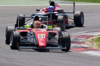 World © MaltaFormulaRacing. FIA F4 Italia Adria International Speedway - June 8th 2014. Tatuus F4 T014 Abarth. Digital Ref : 0989MS8184