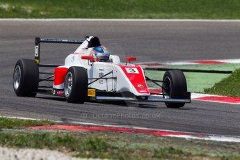 World © MaltaFormulaRacing. FIA F4 Italia Adria International Speedway - June 8th 2014. Tatuus F4 T014 Abarth. Digital Ref : 0989MS8263