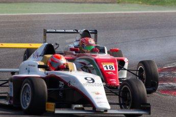 World © MaltaFormulaRacing. FIA F4 Italia Adria International Speedway - June 8th 2014. Tatuus F4 T014 Abarth. Digital Ref : 0989MS8664