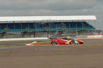 World© Octane Photographic Ltd. FIA World Endurance Championship (WEC) Silverstone 6hr – Friday 18th April 2014. LMGTE AM. AF Corse – Ferrari F458 Italia – Luis Perez Companc, Marco Cioci, Mirko Venturi. Digital Ref : 0907lb1d0762