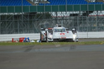 World© Octane Photographic Ltd. FIA World Endurance Championship (WEC) Silverstone 6hr – Friday 18th April 2014. LMP1. Audi Sport Team Joest – Audi R18 e-tron quattro – Hybrid. Lucas di Grassi, Loic Duval, Tom Kristensen. Digital Ref : 0907lb1d5756 0907lb1d5756