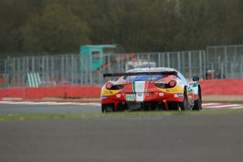 World© Octane Photographic Ltd. FIA World Endurance Championship (WEC) Silverstone 6hr – Friday 18th April 2014. LMGTE PRO. AF Corse – Ferrari F458 Italia – Gianmaria Bruni, Toni Vilander. Digital Ref : 0907lb1d5776