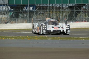 World© Octane Photographic Ltd. FIA World Endurance Championship (WEC) Silverstone 6hr – Friday 18th April 2014. LMP1. Porsche Team – Porsche 919 Hybrid. Timo Bernhard, Mark Webber, Brendon Hartley. Digital Ref : 0907lb1d6146