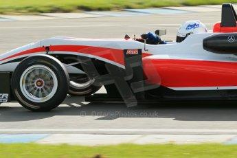 World © Octane Photographic Ltd. Cooper Tyres British Formula 3 Media Day, Castle Donington, Tuesday 8th April 2014. Fortec Motorsports - Dallara F312 Mercedes HWA – Alex Gill. Digital Ref : 0903lb1d3823