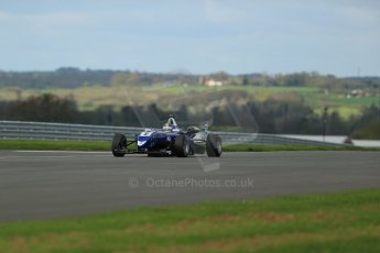 World © Octane Photographic Ltd. Cooper Tyres British Formula 3 Media Day, Castle Donington, Tuesday 8th April 2014. Carlin - Dallara F310 Volkwagen - Sam Brabham. Digital Ref : 0903lb1d3895
