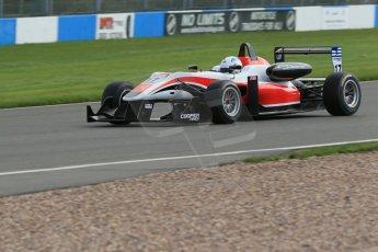 World © Octane Photographic Ltd. Cooper Tyres British Formula 3 Media Day, Castle Donington, Tuesday 8th April 2014. Fortec Motorsports - Dallara F312 Mercedes HWA – Alex Gill. Digital Ref : 0903lb1d4078