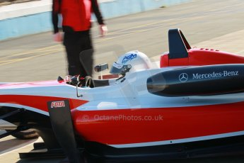 World © Octane Photographic Ltd. Cooper Tyres British Formula 3 Media Day, Castle Donington, Tuesday 8th April 2014. Fortec Motorsports - Dallara F312 Mercedes HWA – Alex Gill. Digital Ref : 0903lb1d9650