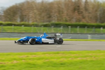 World © Octane Photographic Ltd. Cooper Tyres British Formula 3 Media Day, Castle Donington, Tuesday 8th April 2014. Double R Racing - Andy Chang - Dallara F312 Mercedes HWA. Digital Ref : 0903lb1d9798