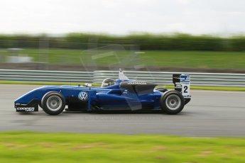 World © Octane Photographic Ltd. Cooper Tyres British Formula 3 Media Day, Castle Donington, Tuesday 8th April 2014. Carlin - Dallara F310 Volkwagen - Sam Brabham. Digital Ref : 0903lb1d9866