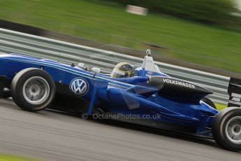 World © Octane Photographic Ltd. Cooper Tyres British Formula 3 Media Day, Castle Donington, Tuesday 8th April 2014. Carlin - Dallara F310 Volkwagen - Sam Brabham. Digital Ref : 0903lb1d9908