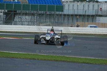 World © Octane Photographic Ltd. BRDC Formula 4 Qualifying, Silverstone, UK, Saturday 16th August 2014. MSV F4-013. Meridian Racing. Connor Jupp. Digital Ref : 1075LB1D4650