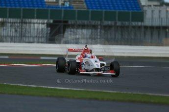 World © Octane Photographic Ltd. BRDC Formula 4 Qualifying, Silverstone, UK, Saturday 16th August 2014. MSV F4-013. Lanan Racing. George Russell. Digital Ref : 1075LB1D4707