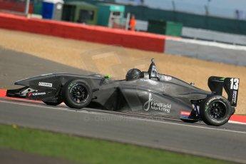 World © Octane Photographic Ltd. BRDC Formula 4 Qualifying, Silverstone, UK, Saturday 16th August 2014. MSV F4-013. Michael Claessens. Digital Ref : 1075LB1D4750