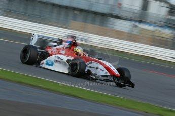 World © Octane Photographic Ltd. BRDC Formula 4 Qualifying, Silverstone, UK, Saturday 16th August 2014. MSV F4-013. Hillspeed. Gustavo Lima. Digital Ref : 1075LB1D4821