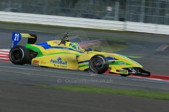World © Octane Photographic Ltd. BRDC Formula 4 Qualifying, Silverstone, UK, Saturday 16th August 2014. MSV F4-013. Petrolball Racing Limited. Gaetano Di Mauro. Digital Ref : 1075LB1D4852