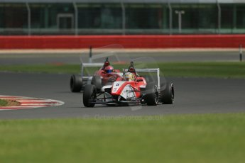 World © Octane Photographic Ltd. BRDC Formula 4 Qualifying, Silverstone, UK, Saturday 16th August 2014. MSV F4-013. Hillspeed. Gustavo Lima. Digital Ref : 1075LB1D4976