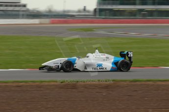 World © Octane Photographic Ltd. BRDC Formula 4 Championship. MSV F4-013. Silverstone, Sunday 27th April 2014. Douglas Motorsport - Rodrigo Fonseca. Digital Ref : 0914lb1d2027