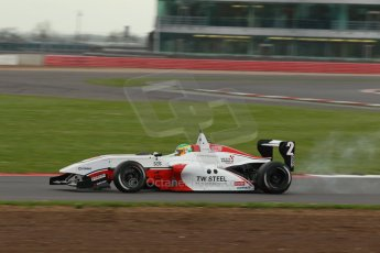 World © Octane Photographic Ltd. BRDC Formula 4 Championship. MSV F4-013. Silverstone, Sunday 27th April 2014. Douglas Motorsport - Charlie Eastwood. Digital Ref : 0914lb1d2098