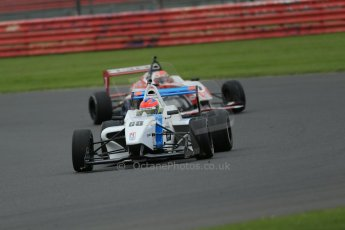 World © Octane Photographic Ltd. BRDC Formula 4 Championship. MSV F4-013. Silverstone, Sunday 27th April 2014. Douglas Motorsport - Diego Menchaca. Digital Ref : 0914lb1d8945