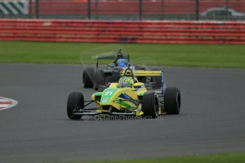World © Octane Photographic Ltd. BRDC Formula 4 Championship. MSV F4-013. Silverstone, Sunday 27th April 2014. Petroball Racing – Gaetano di Mauro. Digital Ref : 0914lb1d8959
