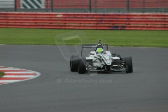World © Octane Photographic Ltd. BRDC Formula 4 Championship. MSV F4-013. Silverstone, Sunday 27th April 2014. Sean Walkinshaw Racing (SWR) – Diego Borrelli. Digital Ref : 0914lb1d9047
