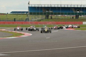 World © Octane Photographic Ltd. BRDC Formula 4 Championship. MSV F4-013. Silverstone, Sunday 27th April 2014. Race 3 start. Digital Ref : 0916lb1d2146