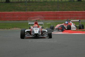 World © Octane Photographic Ltd. BRDC Formula 4 Championship. MSV F4-013. Silverstone, Sunday 27th April 2014. Lanan Racing - Arjun Maini. Digital Ref : 0916lb1d9591