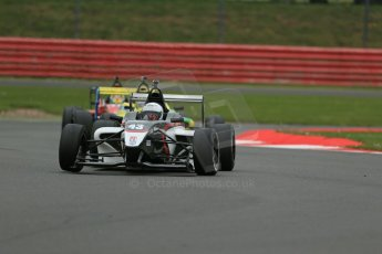 World © Octane Photographic Ltd. BRDC Formula 4 Championship. MSV F4-013. Silverstone, Sunday 27th April 2014. Mark Godwin Racing (MGR) - David Wagner. Digital Ref : 0916lb1d9625