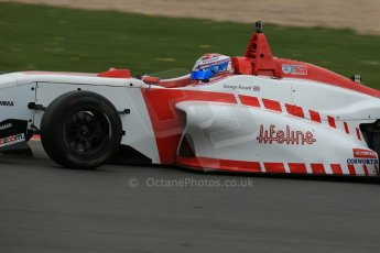 World © Octane Photographic Ltd. BRDC Formula 4 Championship. MSV F4-013. Silverstone, Sunday 27th April 2014. Lanan Racing – George Russell. Digital Ref : 0916lb1d9659
