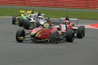 World © Octane Photographic Ltd. BRDC Formula 4 Championship. MSV F4-013. Silverstone, Sunday 27th April 2014. Chris Dittmann Racing (CDR) - Tom Jackson. Digital Ref : 0916lb1d9672