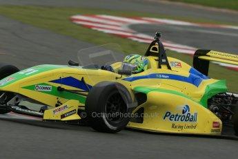 World © Octane Photographic Ltd. BRDC Formula 4 Championship. MSV F4-013. Silverstone, Sunday 27th April 2014. Petroball Racing – Gaetano di Mauro. Digital Ref : 0916lb1d9680