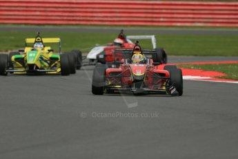 World © Octane Photographic Ltd. BRDC Formula 4 Championship. MSV F4-013. Silverstone, Sunday 27th April 2014. Chris Dittmann Racing (CDR) - Tom Jackson. Digital Ref : 0916lb1d9838