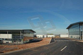 World © Octane Photographic Ltd. 3rd May 2014 - FIA Formula E Head Quarters under construction - Donington Park. Digital Ref : 0890cb1d2630