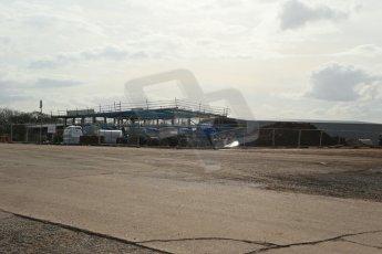 World © Octane Photographic Ltd. 4th March 2014 - FIA Formula E Head Quarters under construction - Donington Park. Digital Ref : 0890lb1d5227