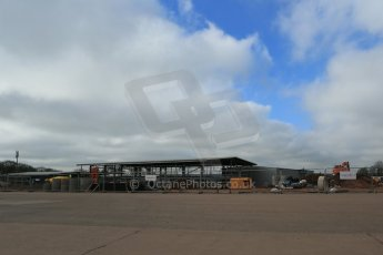 World © Octane Photographic Ltd. 11th March 2014 - FIA Formula E Head Quarters under construction - Donington Park. Digital Ref : 0890lb1d5239