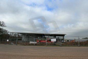World © Octane Photographic Ltd. 11th March 2014 - FIA Formula E Head Quarters under construction - Donington Park. Digital Ref : 0890lb1d5253