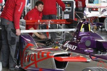 World © Octane Photographic Ltd. FIA Formula E testing – Donington Park 19th August 2014. Spark-Renault SRT_01E. Virgin Racing - Sam Bird. Digital Ref : 1077LB1D5170