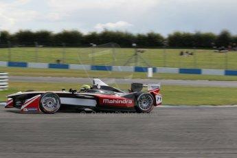 World © Octane Photographic Ltd. FIA Formula E testing – Donington Park 19th August 2014. Spark-Renault SRT_01E. Mahindra Racing - Bruno Senna. Digital Ref :