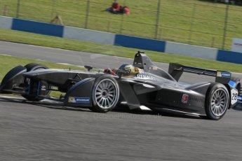 World © Octane Photographic Ltd. FIA Formula E testing – Donington Park 19th August 2014. Spark-Renault SRT_01E. Andretti Autosport – Charles Pic. Digital Ref : 1077LB1D5263
